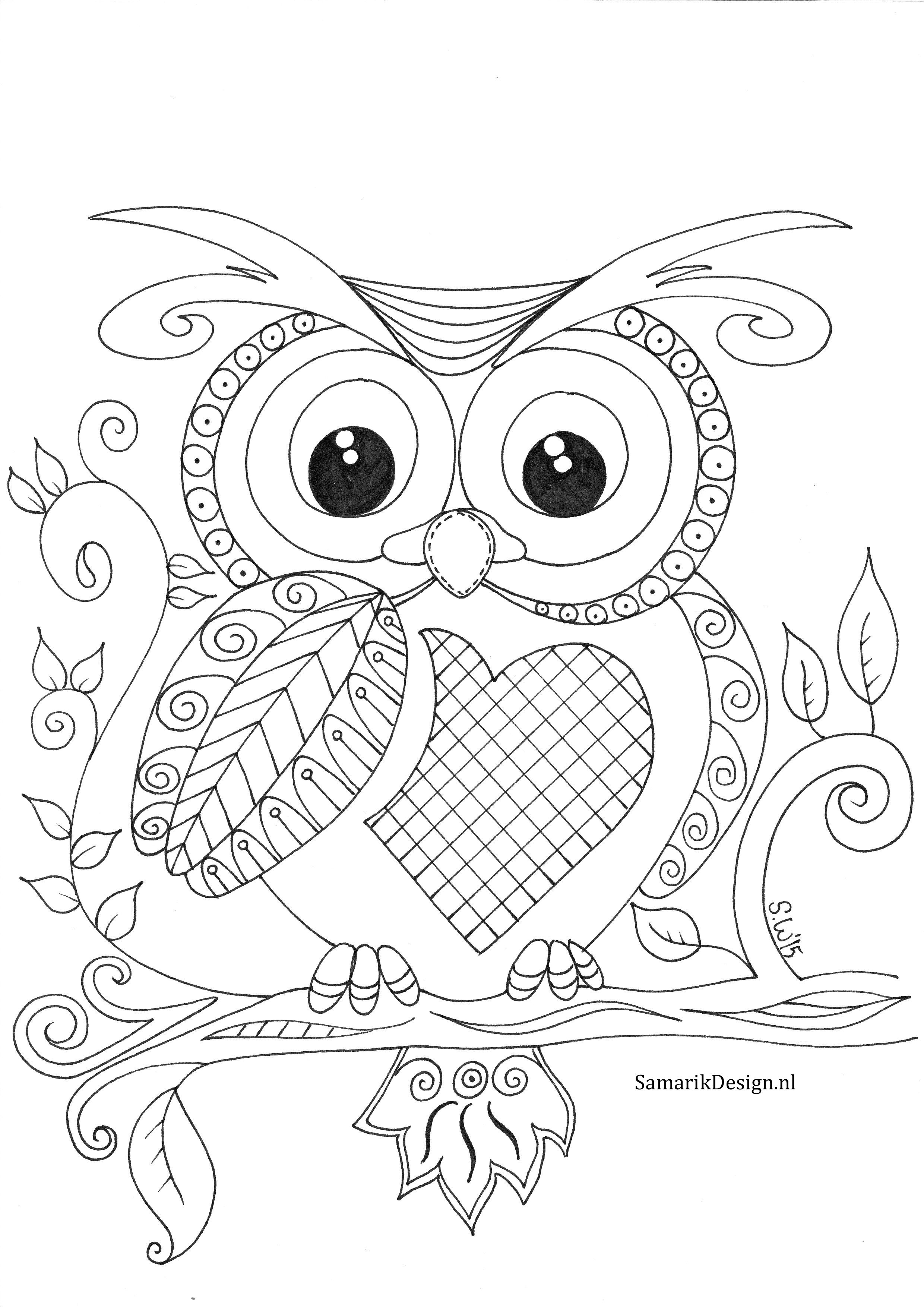Colouring for adults | Patterns Owls, Frogs and Snails | Pinterest ...