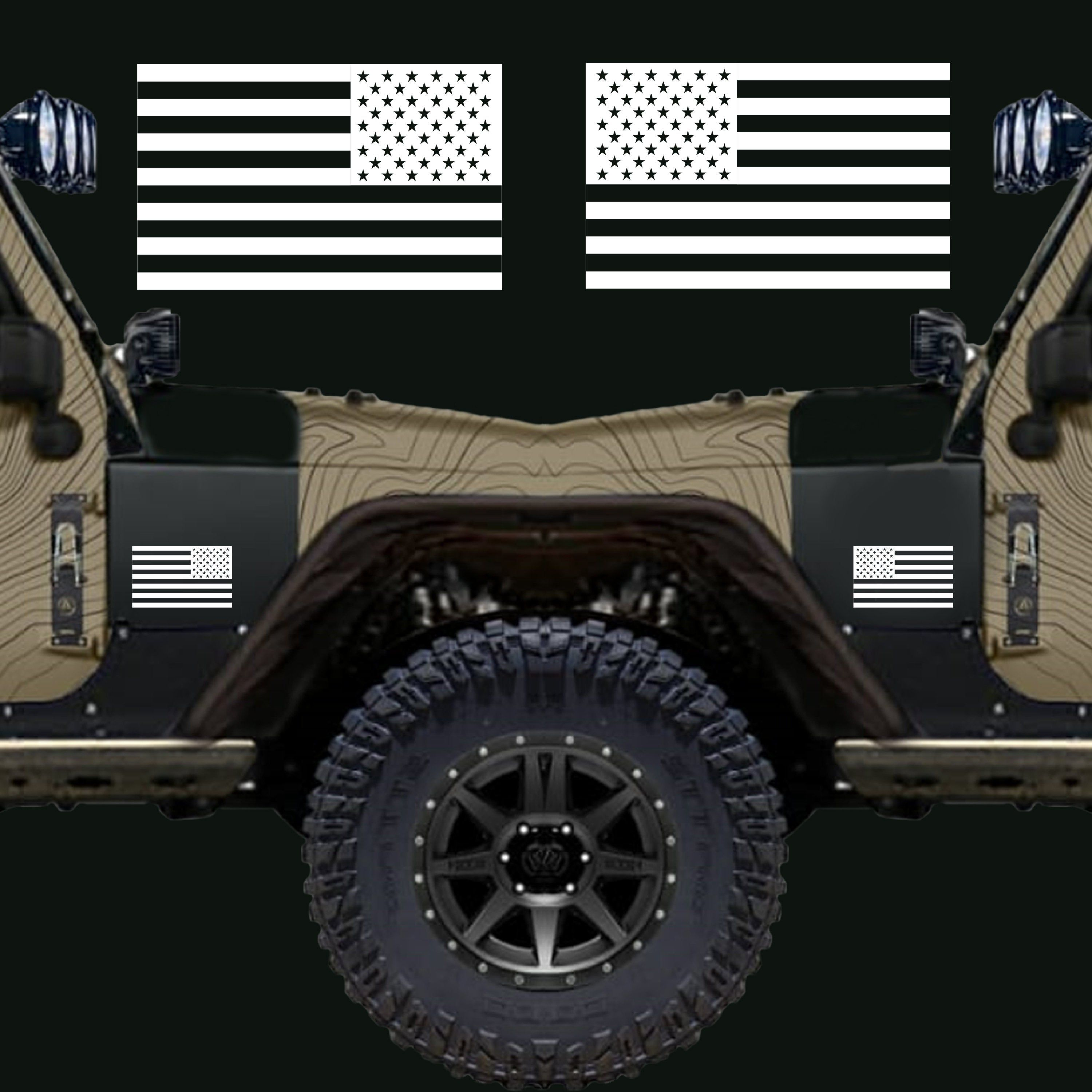 American Flag Subdued Tactical 5 X 3 High Quality Vinyl Decal Sticker Pair 1 Original And 1 Flipped Version American Flag Decal Flag Decal High Quality Vinyl [ 3000 x 3000 Pixel ]