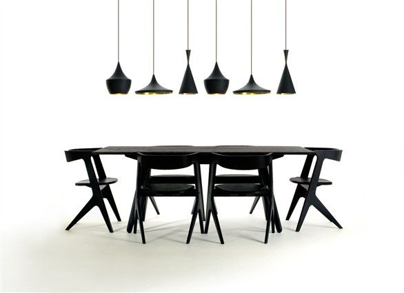 Tom Dixon Slab Table Dining Black Web Image