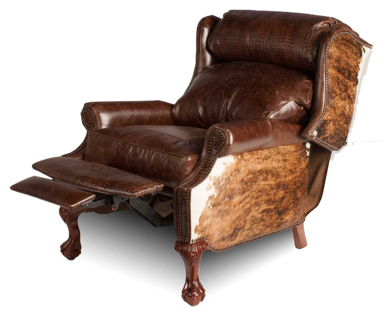 Wingback Recliner Hill Country Collection Leather Furniture