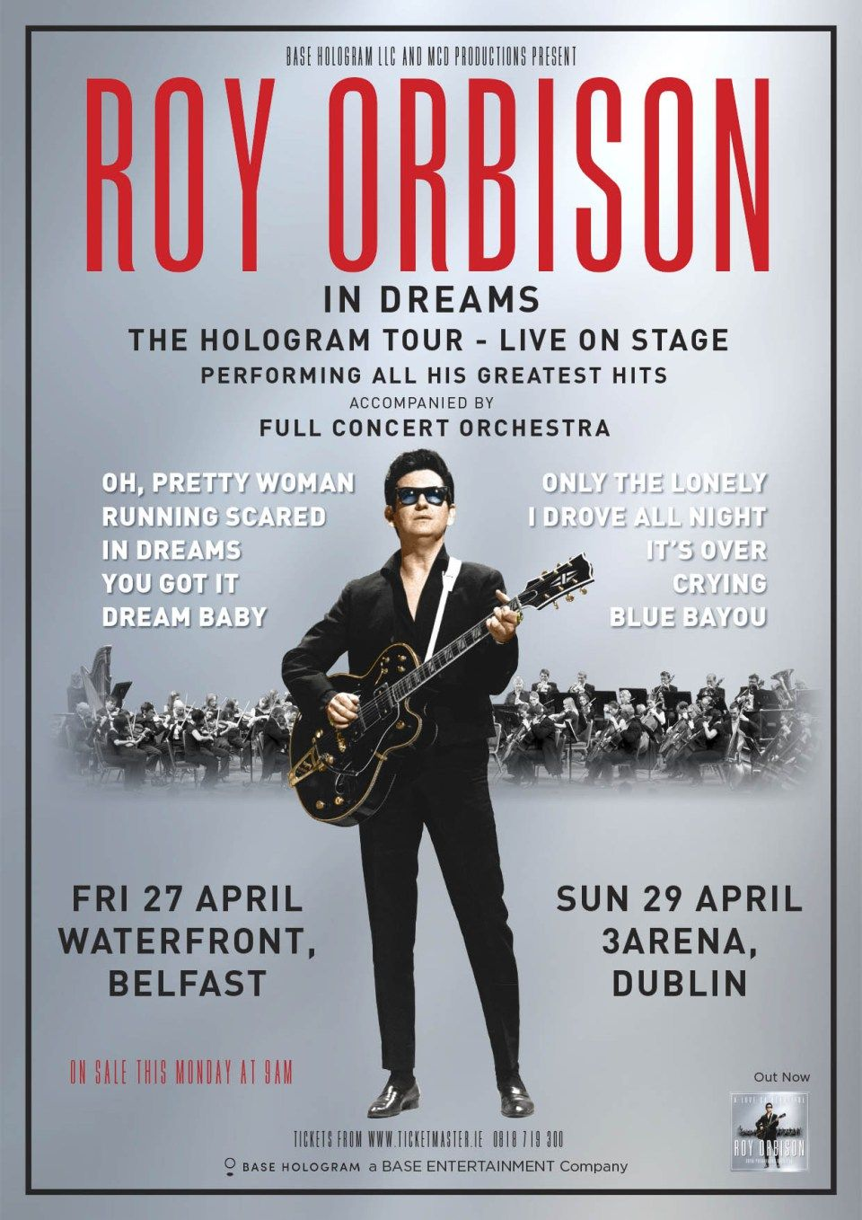 Roy Orbison In Dreams Hologram Tour (With images) Roy