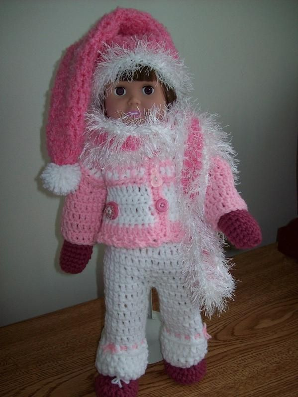 Just Adorable Free Crochet Pattern Snow Days 18 American Girl