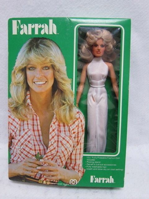 Farrah Fawcett 1976 Vintage Super Star Fashion Doll Charlies Angel by