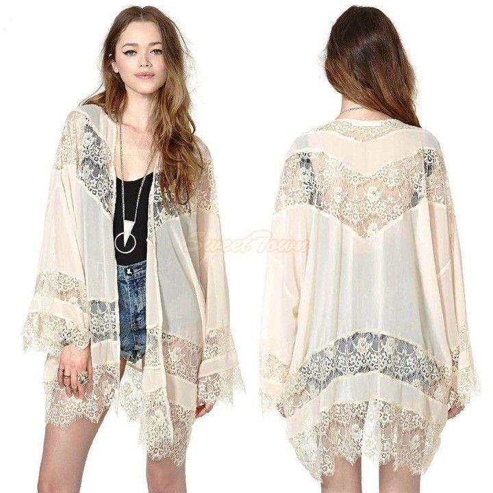 Aliexpress.com: Compre 2015 mulheres moda outono Lace manga longa ...