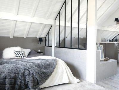 1000 ideas about combles amnags on pinterest ossature bois attic spaces and amnager bibliotheque - Suite Parentale Avec Salle De Bain Sous Comble