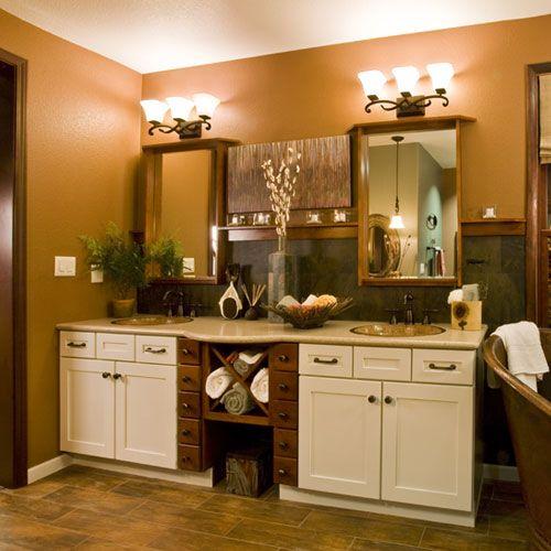 Double Vanity In The Small Bathroom Bathroom Design Pinterest - Bathroom fixtures and vanities