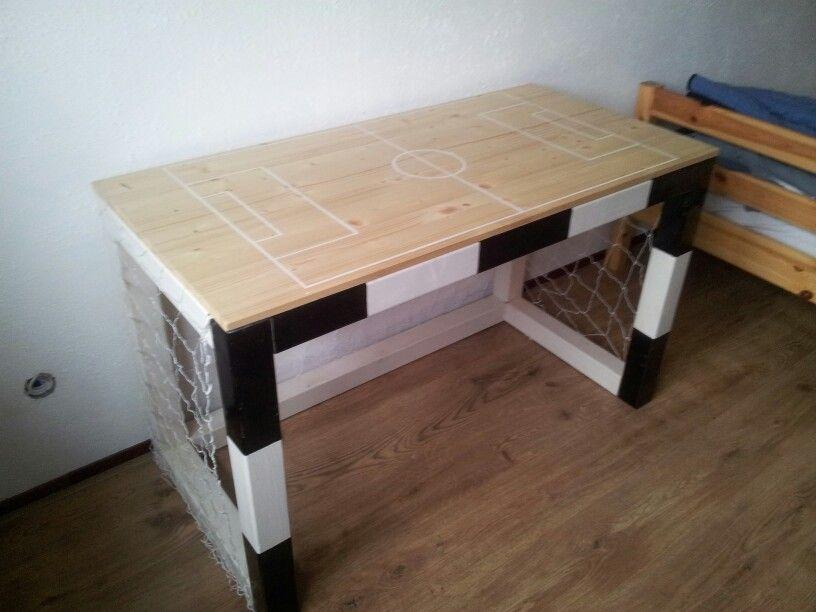 Voetbal bureau slaapkamer jongen t escritorio infantil