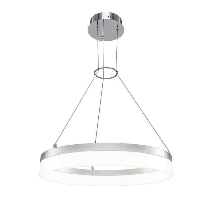 Artika led optical studio chandelier light fixture