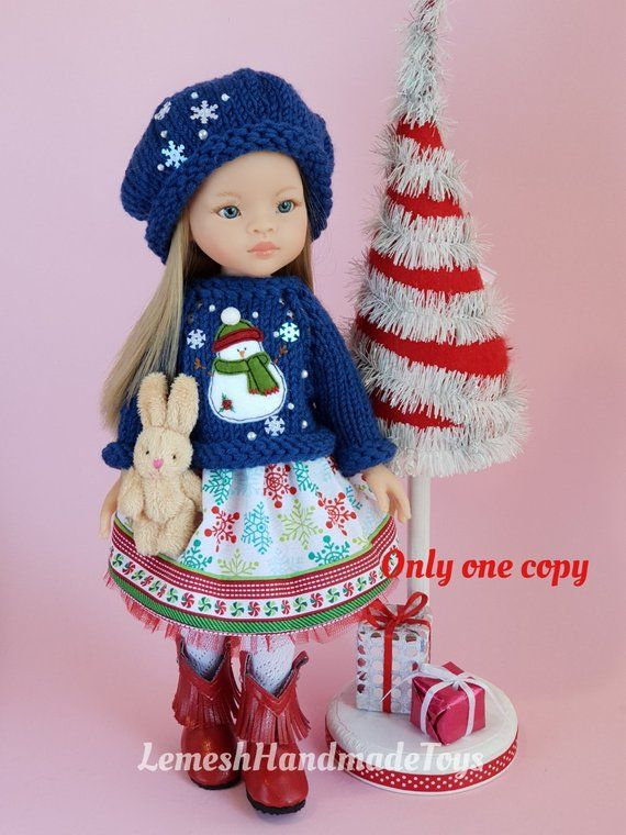 NEW Shoes Hat Sweater Leggings Handmade to fit Corolle Les Cheries 13 inch