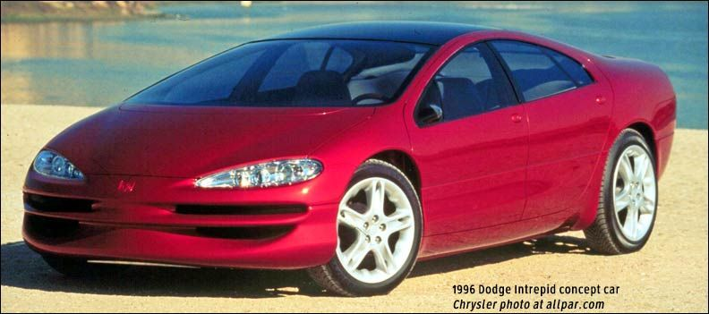 Chrysler Hybrid Electric Cars Of The 1990s Dodge Intrepid Esx 1 8