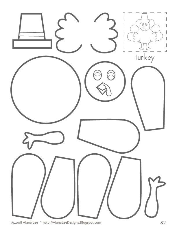 Turkey Coloring Pages For Kindergarten : Related pictures cut paste and color a turkey coloring