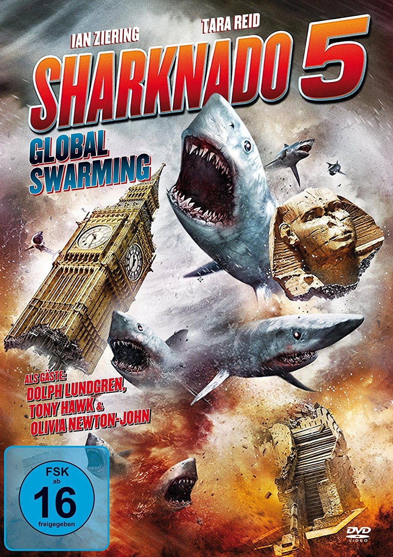 Amazon Com Sharknado 5 Global Swarming Uncut Fassung Movies Tv Sharknado Worst Movies Funny Doge