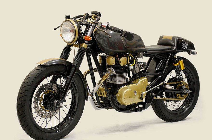 yamaha xs650 caf racer by chappell customs motorcycles that i rh pinterest com