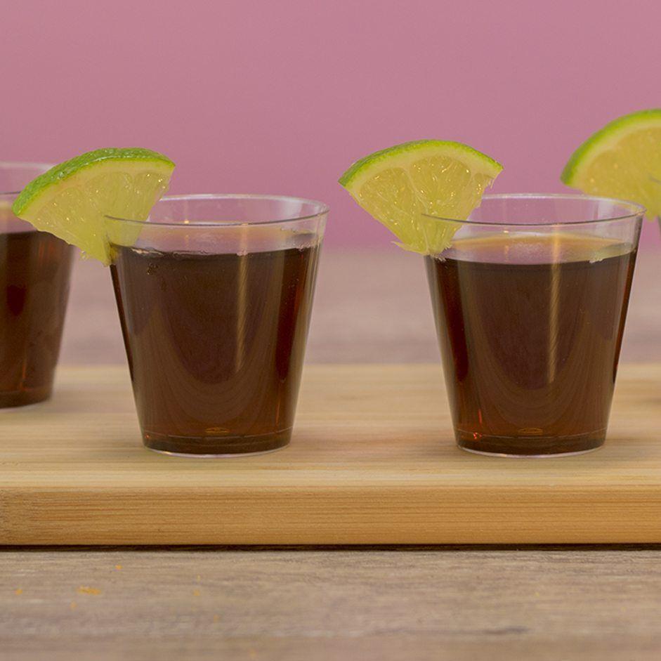 Rum & Coke Jello Shots