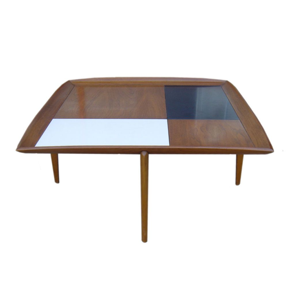 3ft Square Vintage John Keal for Brown Saltman Coffee Table MR