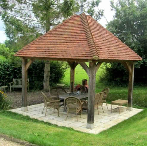 Green Oak Gazebo Uk Google Search Construction Designs