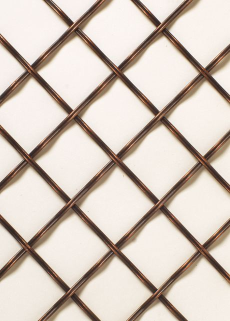R321 Orb Wire Mesh Lattice Insert For Cabinet Doors Bar Doorz