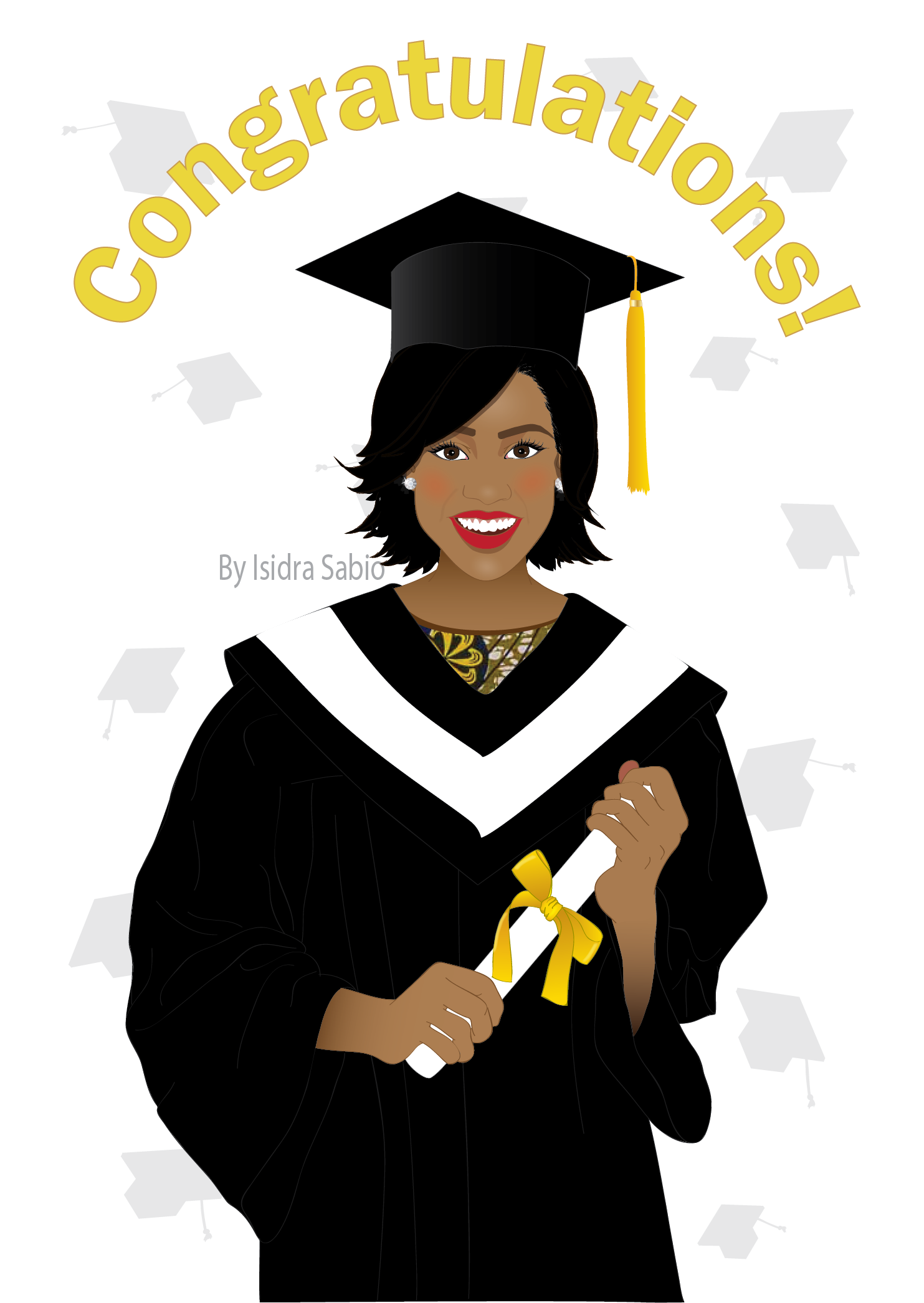Graduation Congratulations On Your Graduation For Women Card