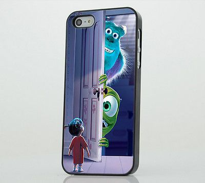 Monsters Inc Mike Sully Scare Cartoon PHONE CASE COVER fits IPHONE 5 5s 5c 6 6+