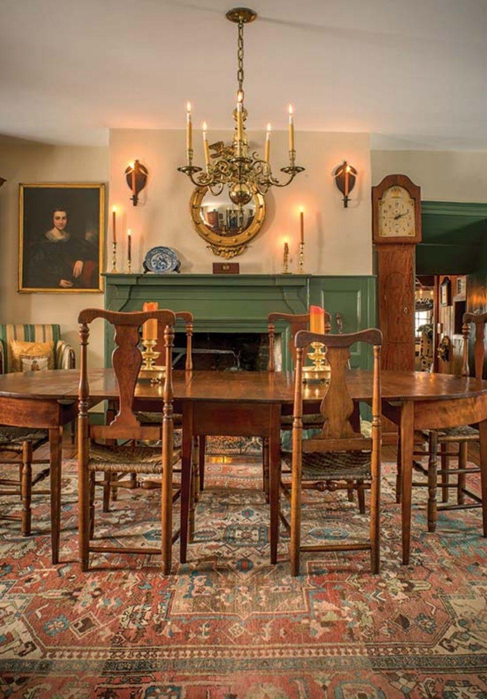 Nice 50 Victorian Farmhouse Dining Room Interior Design Ideas Cooarchitecture