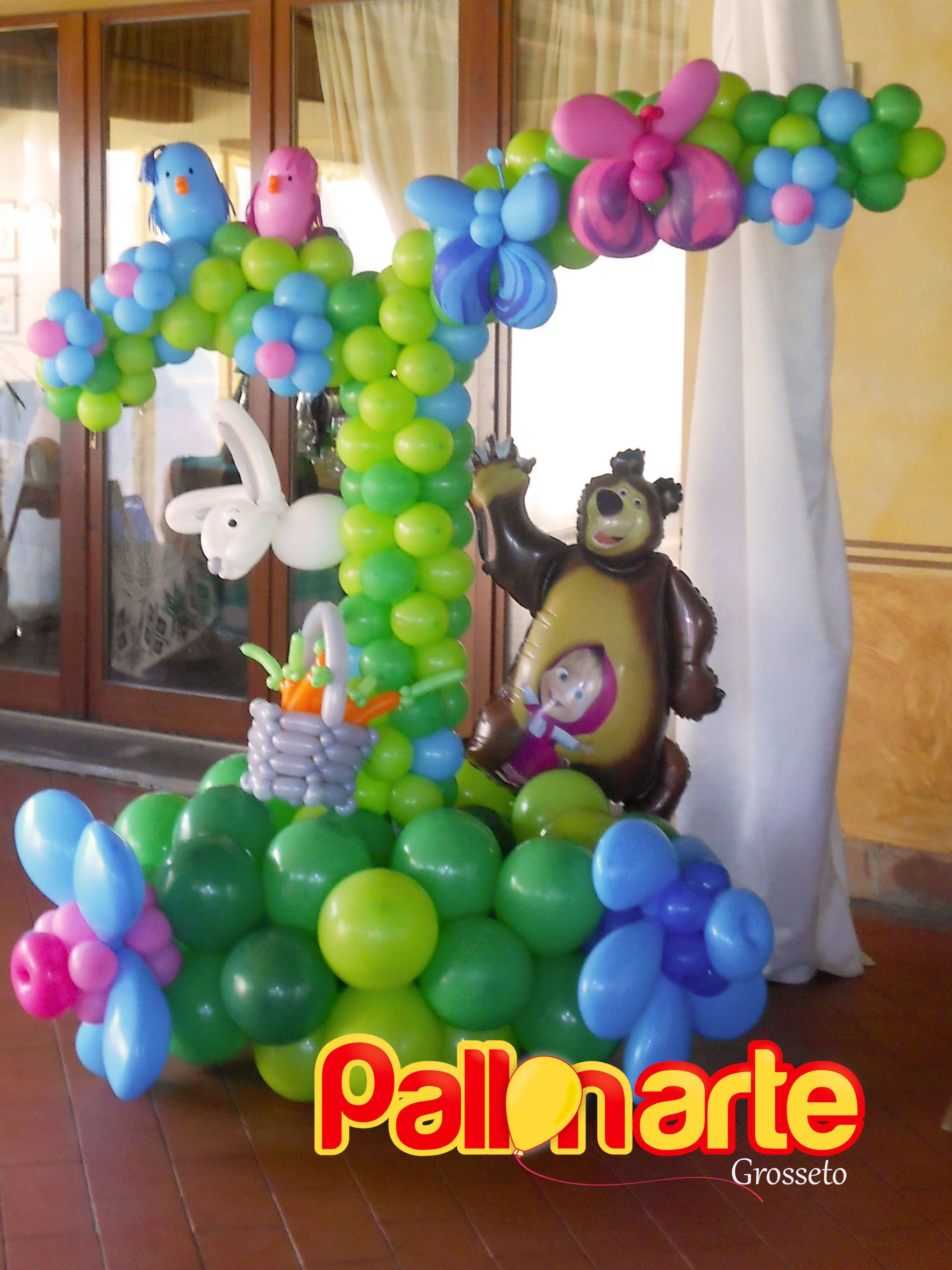 Masha And The Bear Balloon Decoration Masha E Orso Masha