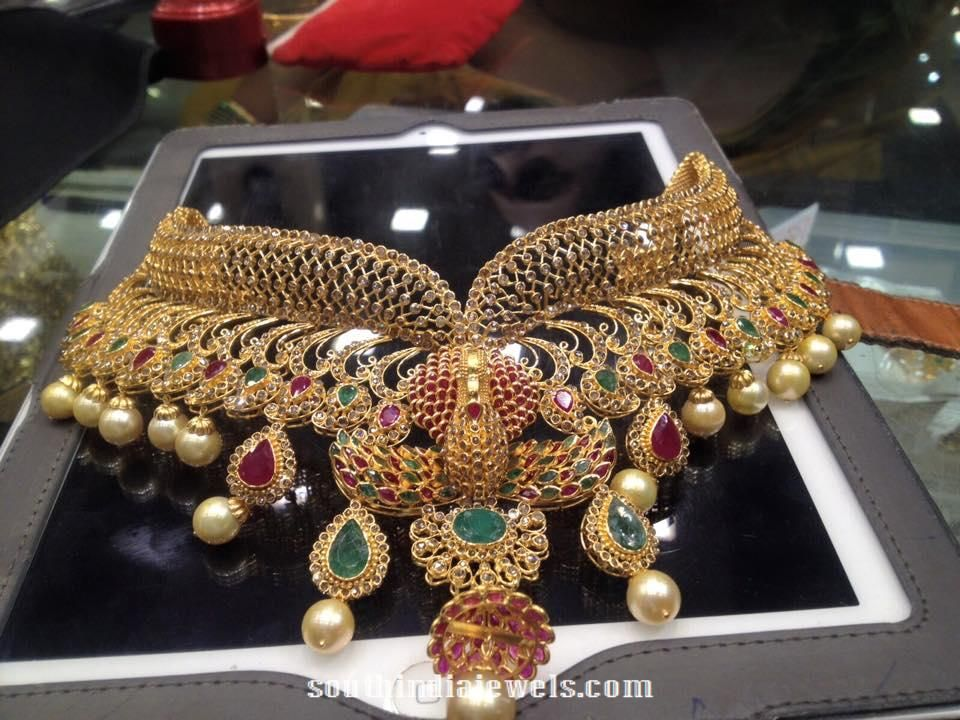 455 best gold images on Pinterest | Indian jewellery design ...