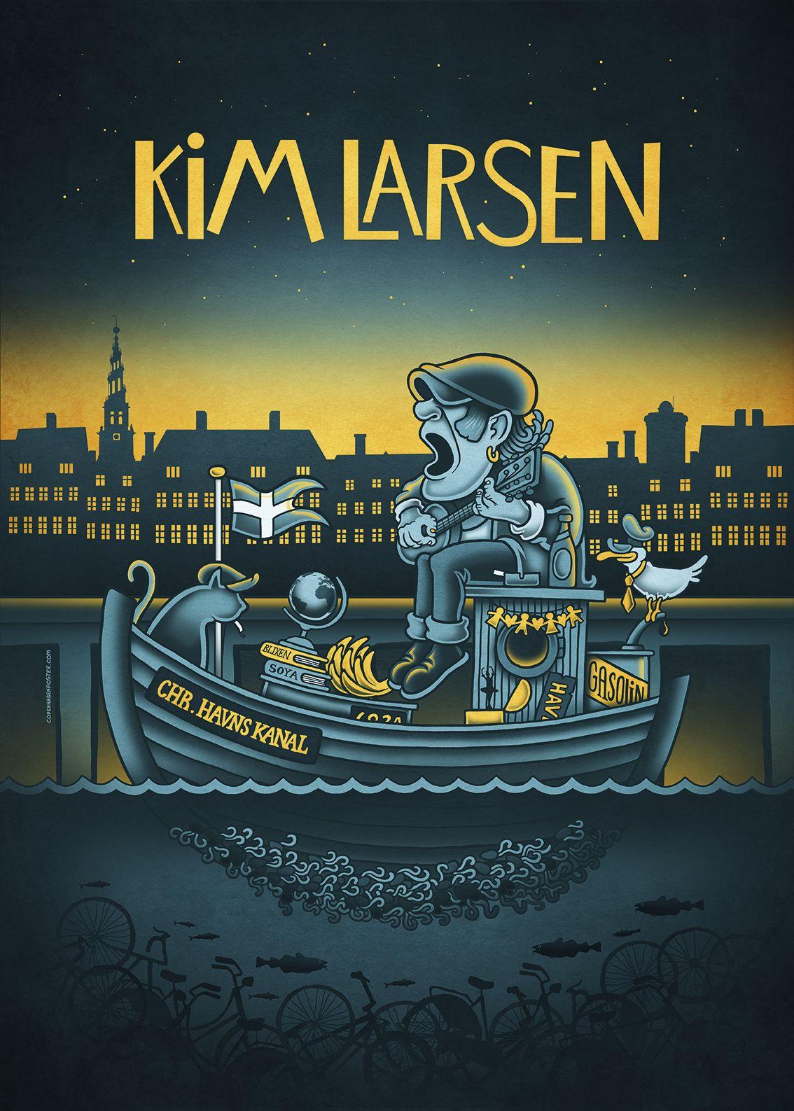 0 Kim Larsen Christianshavns Kanal I 2020 Plakat Ideer Plakat Poser