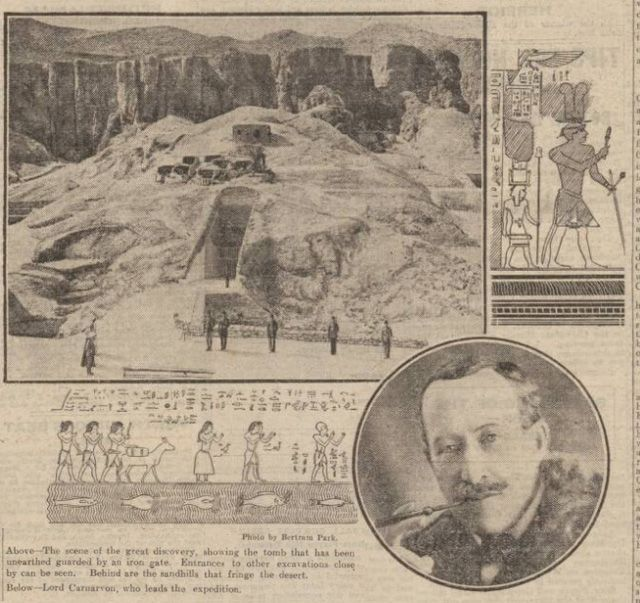 The Curse Of King Tuts Tomb Torrent: Historical Newspaper Report On Howard Carter