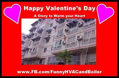 Happy Valentine S Day From Funny Interesting Hvac And Boiler