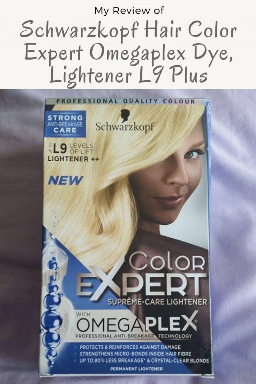 My Review Of Schwarzkopf Hair Color Expert Omegaplex Dye L9 Lightener Plus Hair Color Experts Schwarzkopf Hair Color Hair Color