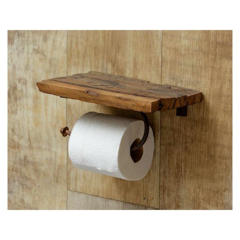 Rustic Shelf Toilet Paper Holder 8w2327 Buffalo Trader Online In 2020 Rustic Toilet Paper Holders Diy Toilet Paper Holder Toilet Paper Holder