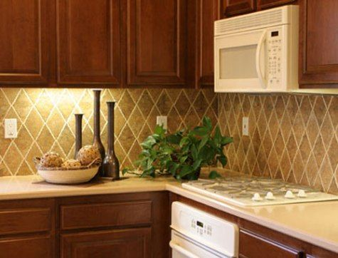 Aside From Its Original Purpose That Acts As Wall Protection, Kitchen  Backsplash Design Was Fun.