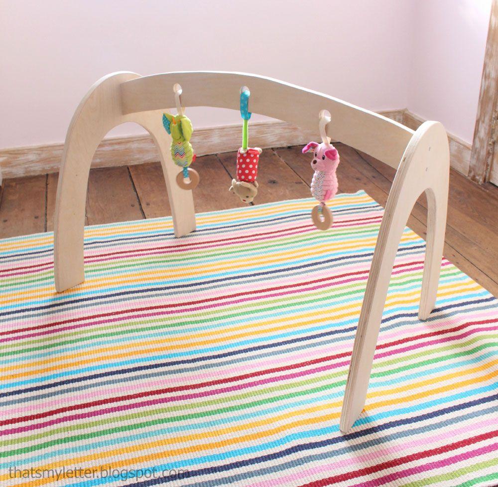 Wood Baby Gym (Ana White) | Muebles para bebés, Madera y Juguetes