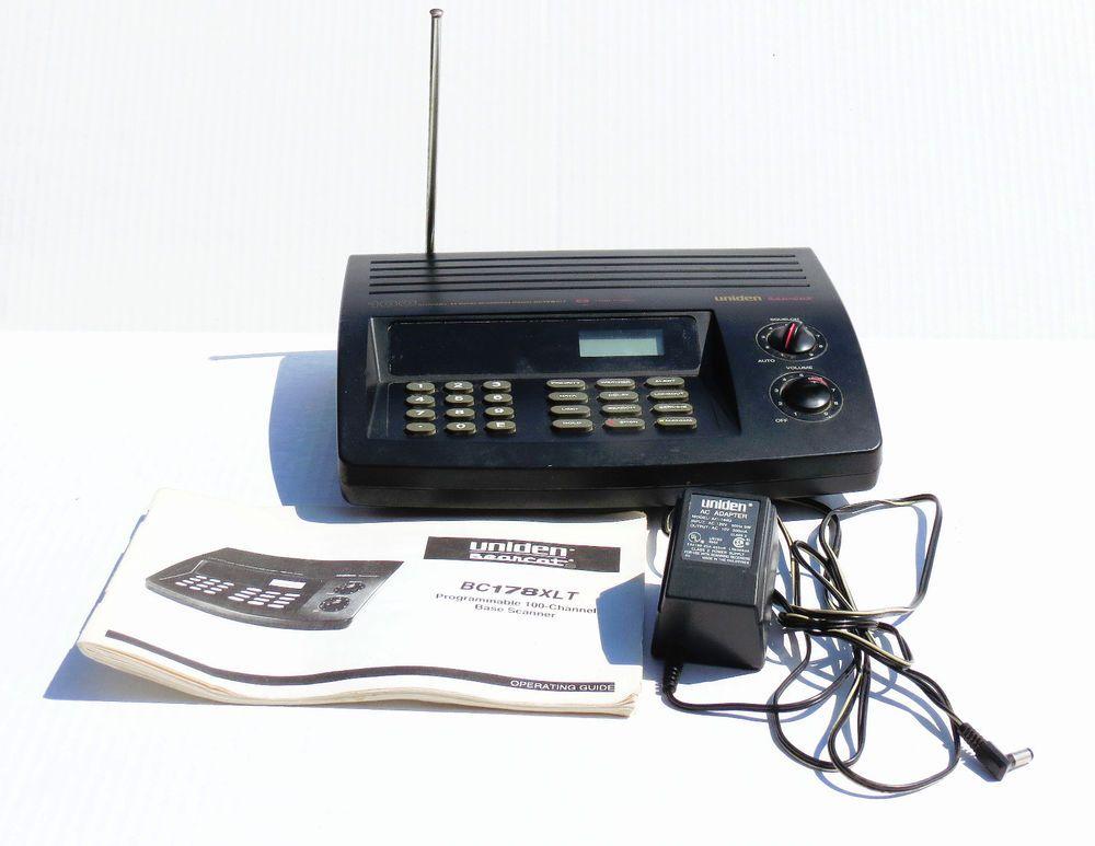 uniden bearcat bc178xlt 11 band 100 channel programmable scanner rh pinterest com Police Scanner Manuals Uniden Bearcat Scanner Manual