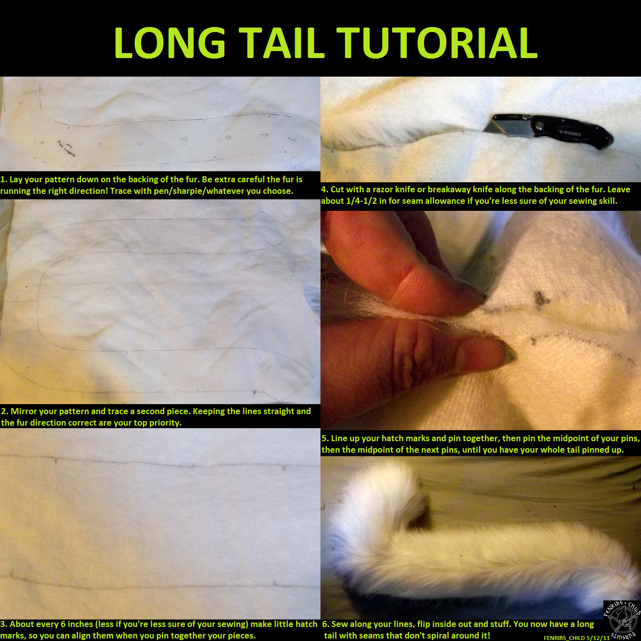 Tutorial Cat Tail Google Search Cosplay Cosplay Tutorial