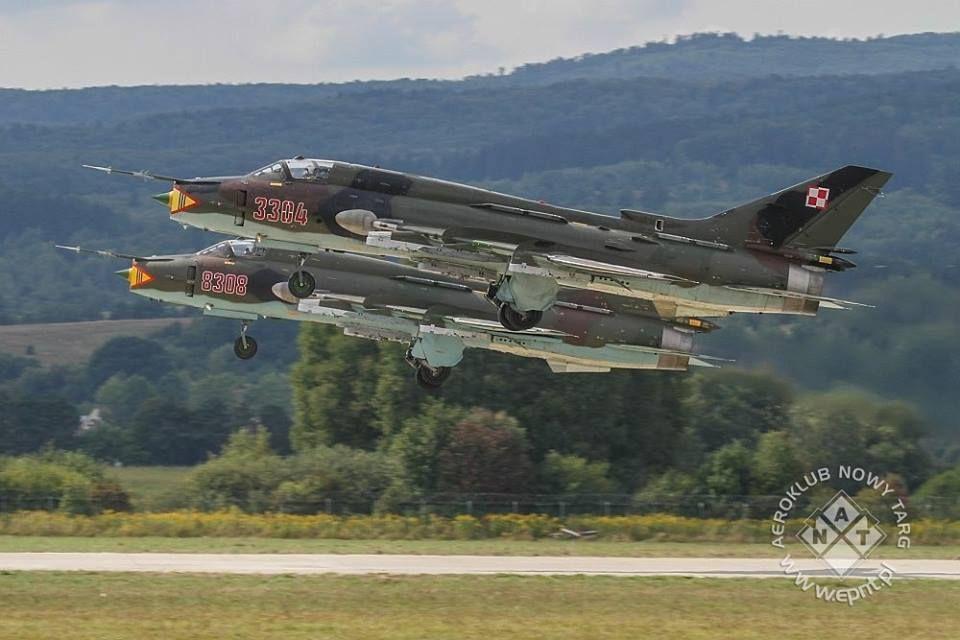Su-22 photo. M. Kalinowski