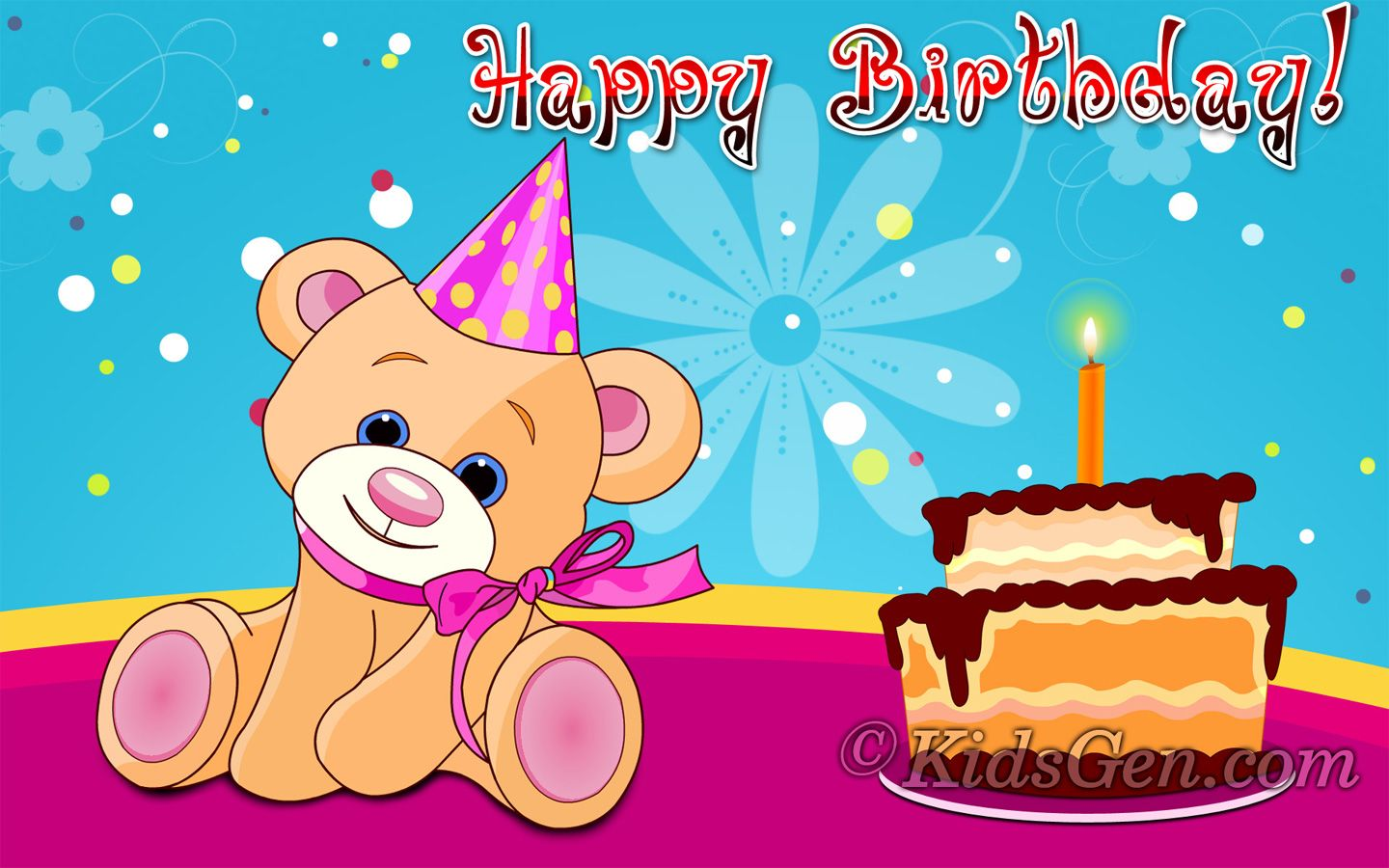 Image Result For Happy Birthday Hd Wallpaper 1920x1080 Png Happy