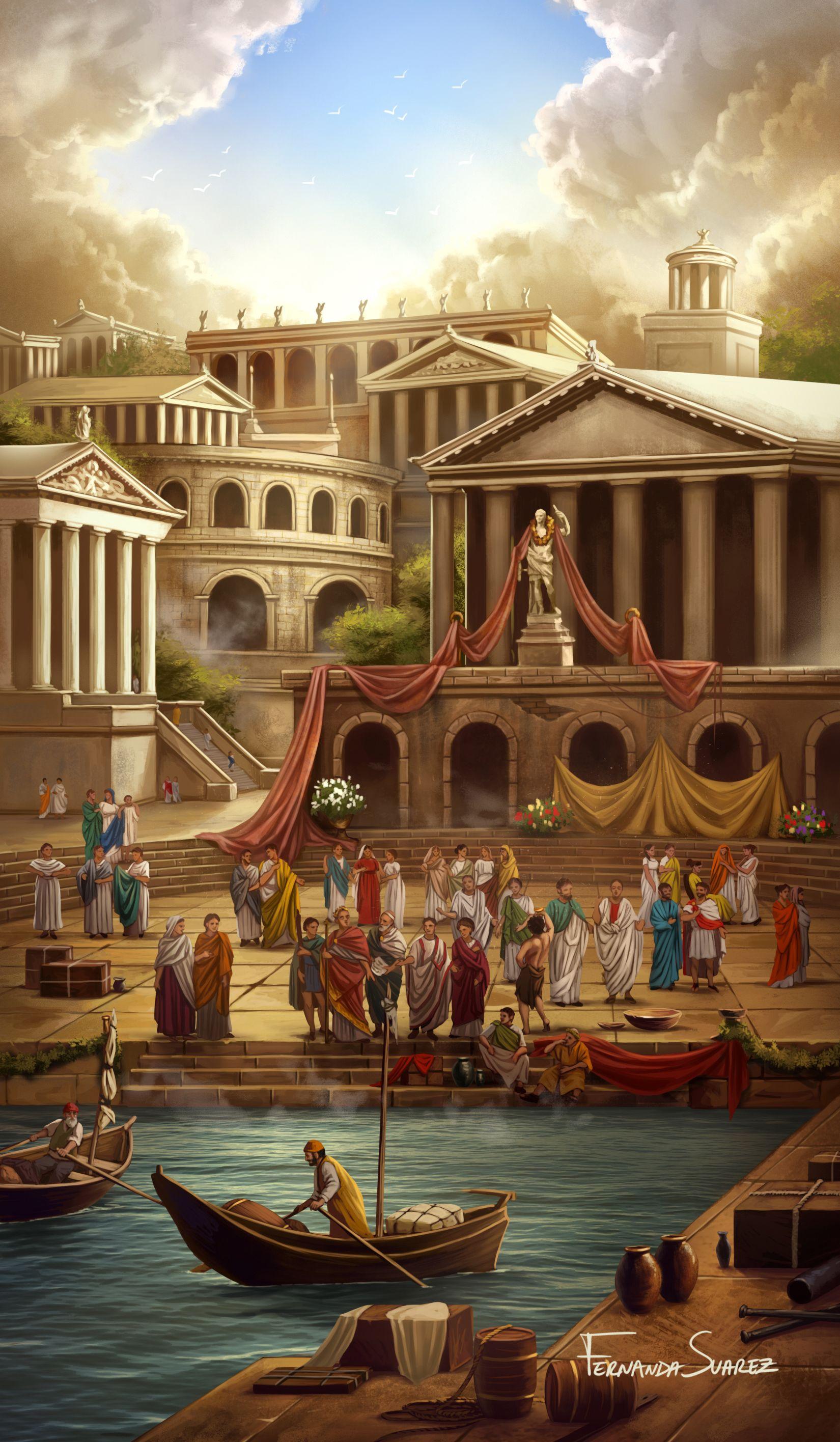 Rome by Fernanda Suarez | Rome art, Arabian art, Egypt art