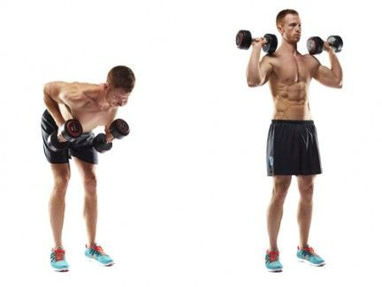 build a sixpack at home in three weeks with dumbbells