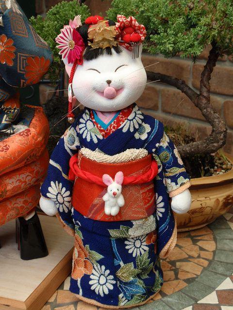 Japanese Cat Doll