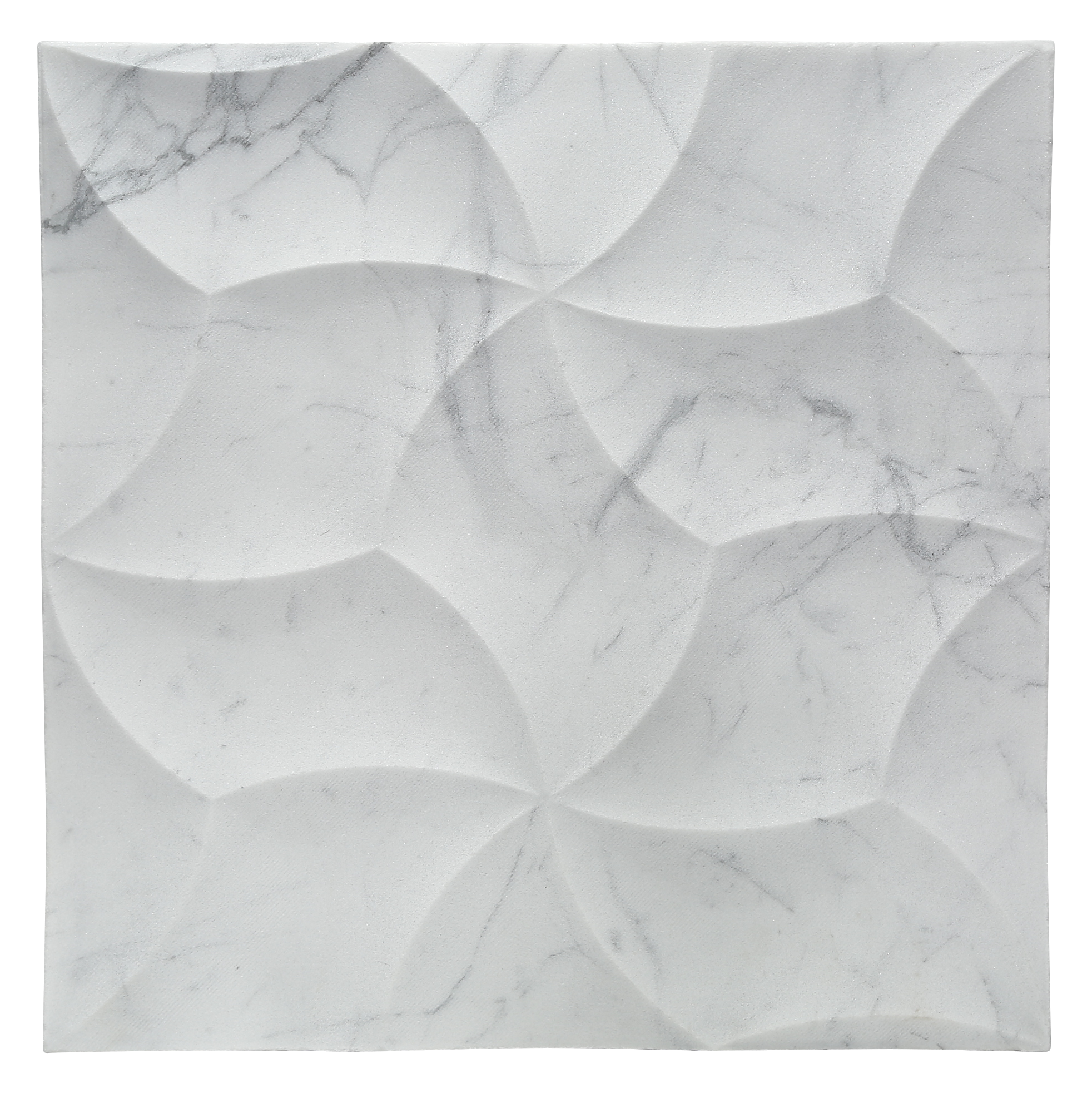 Bianco Carrera White Marble 12x12 3d Luxury Accent Wall Tile Shower Wall Tile Beautiful Tile Work 3d Wall Tiles