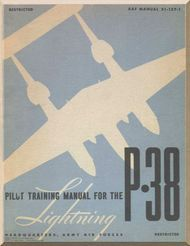 Lockheed P Aircraft Pilot Training Manual  Af Vintage Ads
