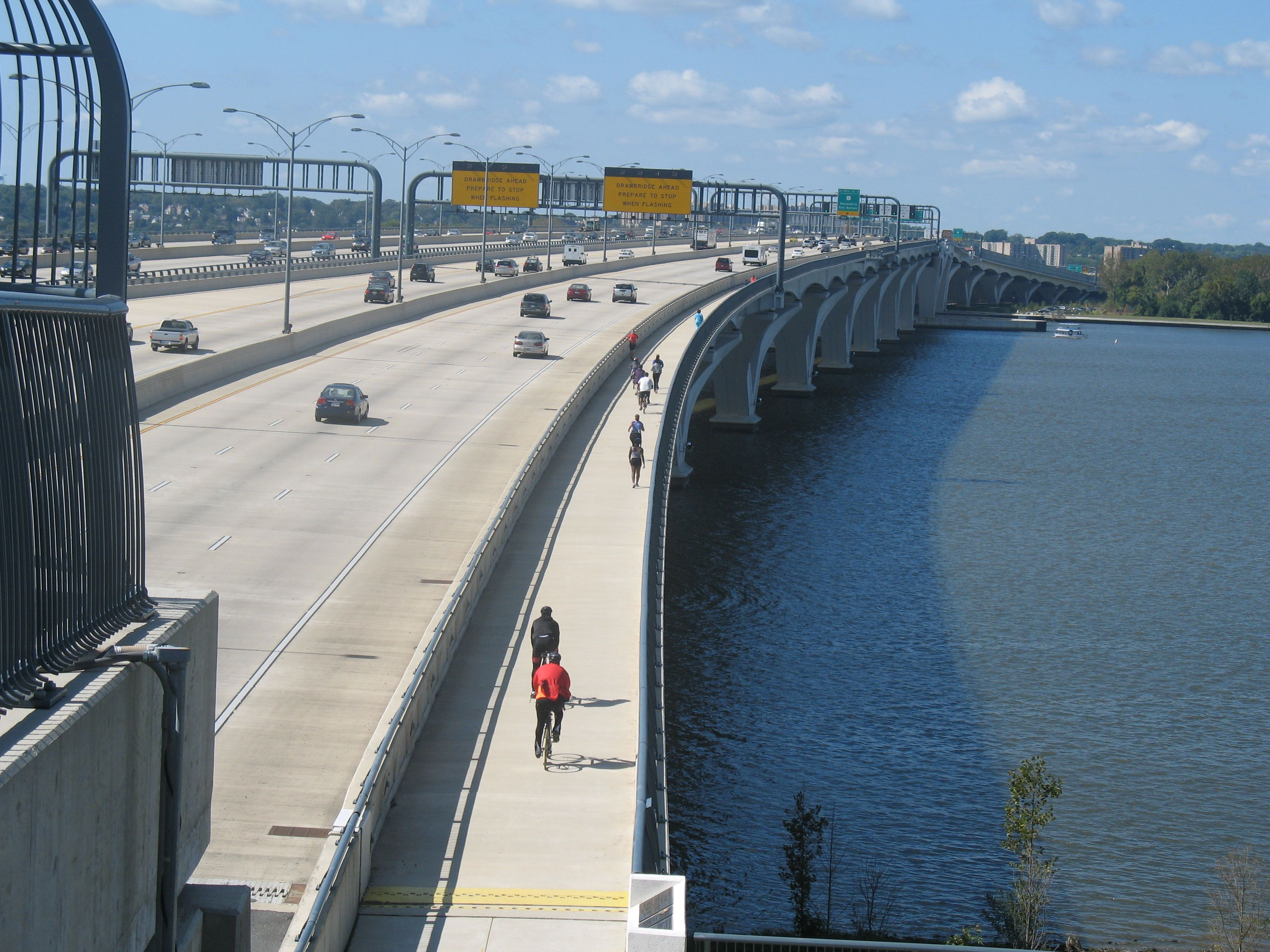 Roller skating rink laurel md - The New Woodrow Wilson Bridge Bikeway Links National Harbor Md To Alexandria