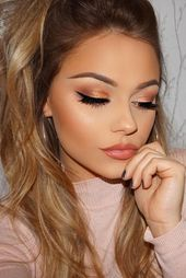 Photo of 46 Amazing Party Makeup Seems to Try This Christmas Season – #amazing # …