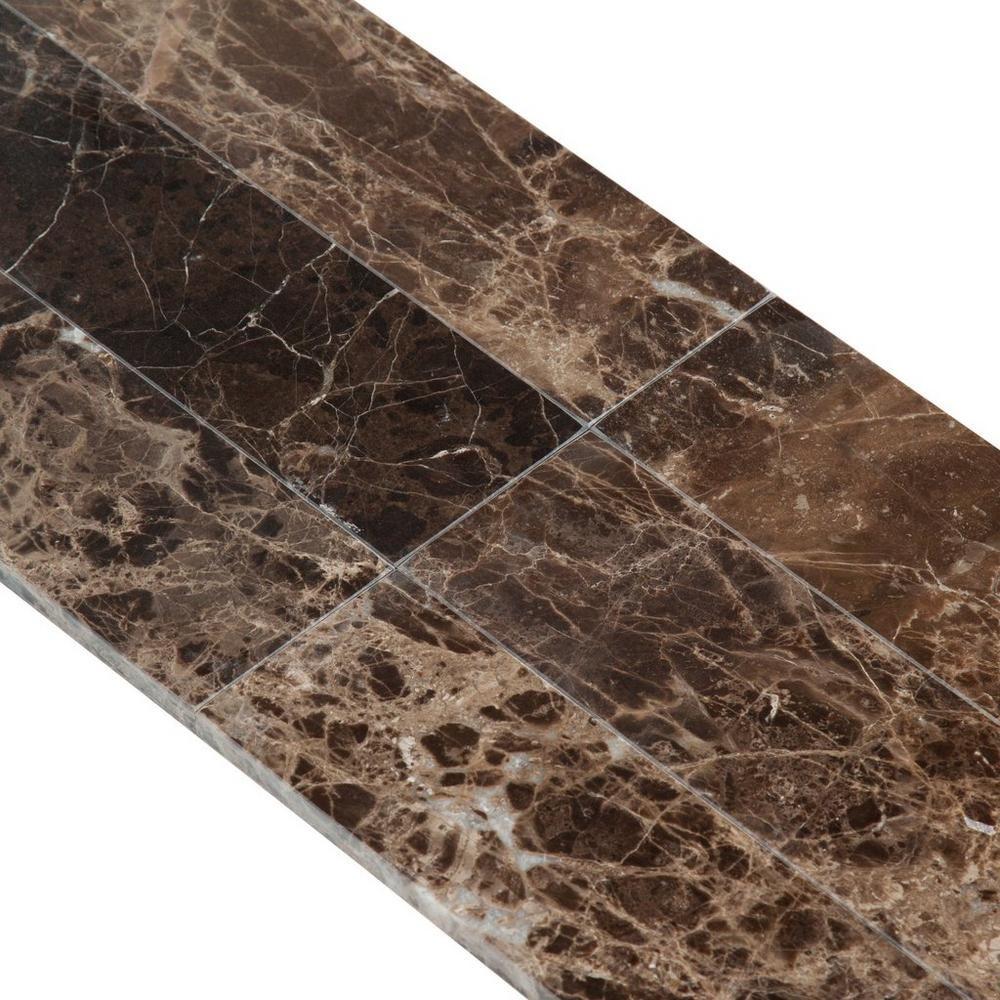 Dark Emperador Polished Marble Tile Floor Decor Polished Marble Tiles Marble Tile Marble Tile Floor