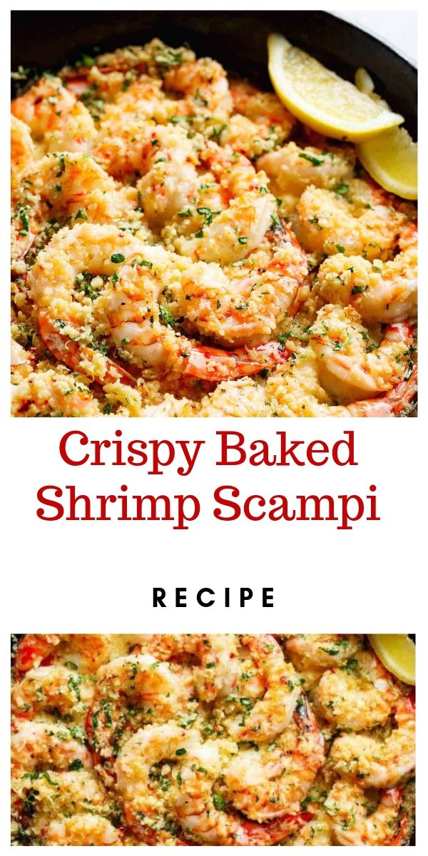 Crispy Baked Shrimp Scampi Recipe