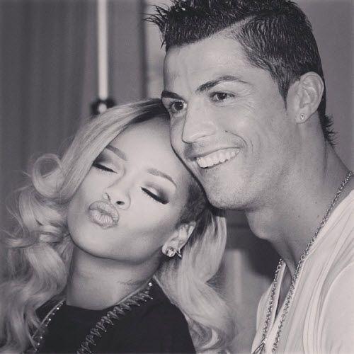 Real Madrid star Cristiano Ronaldo meets Rihanna