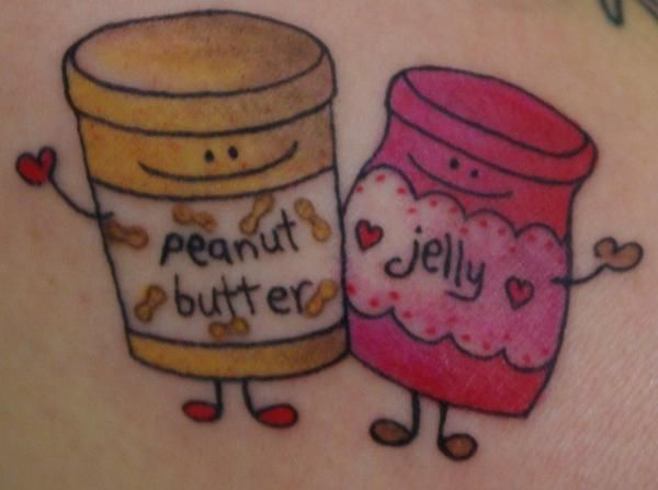 Gallery For Peanut Butter And Jelly Tattoo Tattoos Pinterest