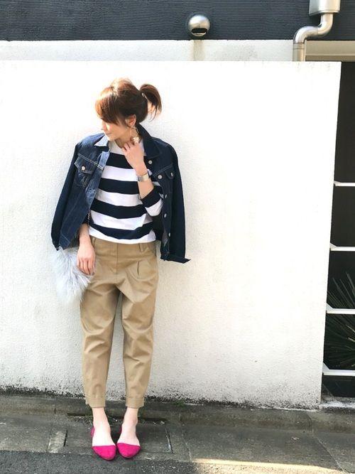 LUMIE agnes b.のTシャツ/カットソーを使った
