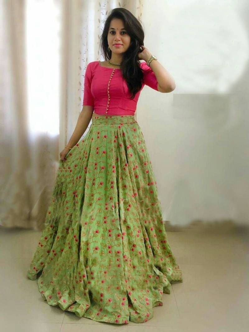 a774733e861 Shop discount prices online designer crop top lehenga choli for women at  Mahifashion.in with shipping in India